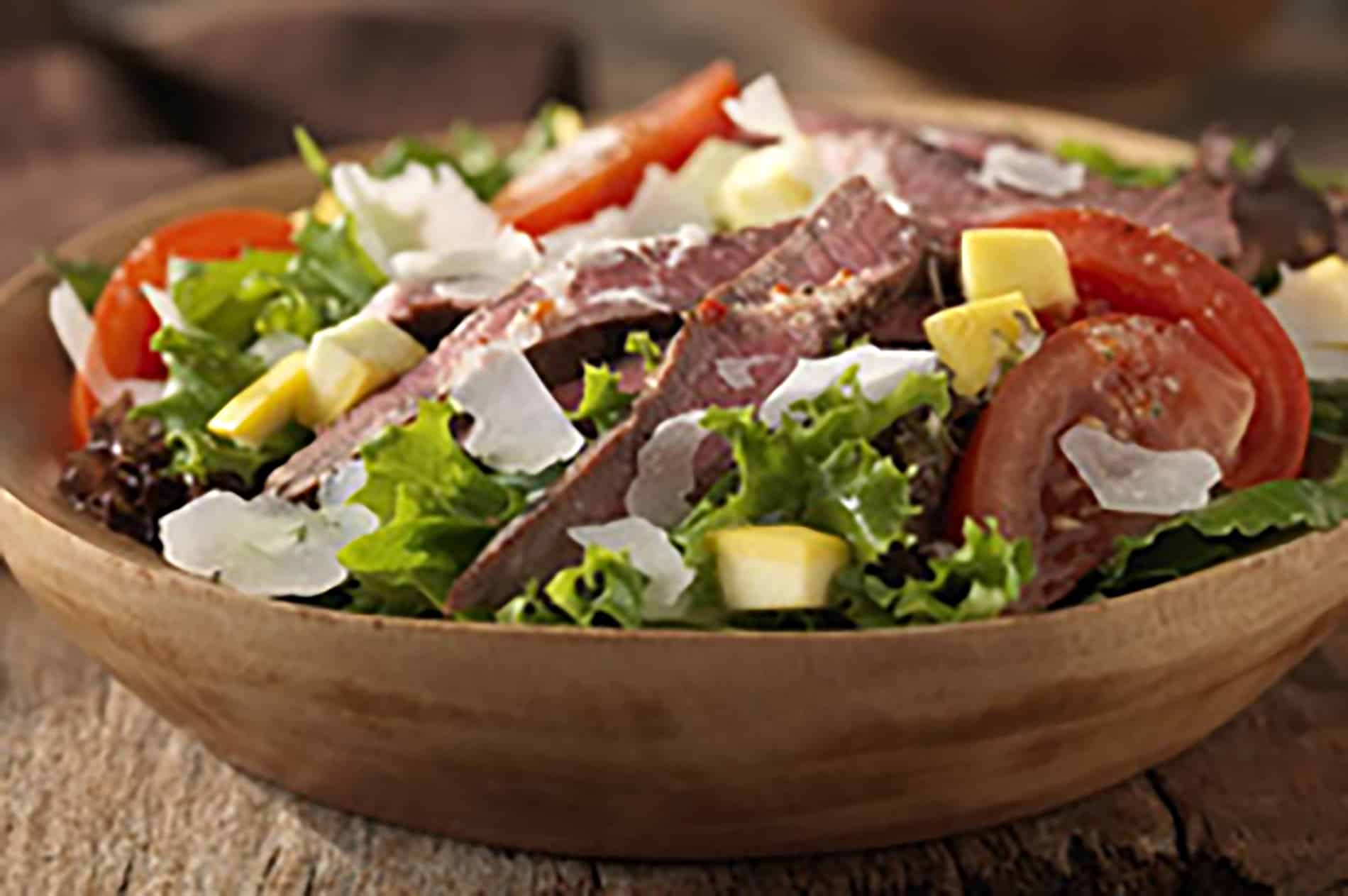 Grilled Steak Parmesan Salad 1491