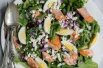 main green bean salmon salad 960x540